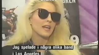 Vixen Interview Sweden March 2 1991