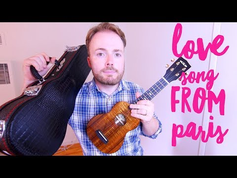 LOVE SONG FROM PARIS - JON COZART *PAINT* (EASY UKULELE TUTORIAL!)