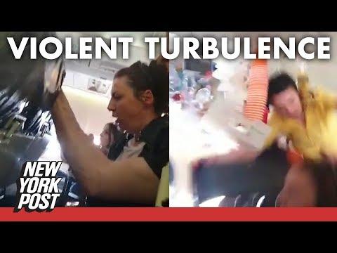 Kat Jackson - Scary Turbulence Injures 10