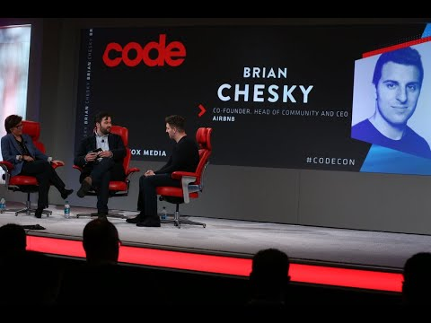 Airbnb CEO Brian Chesky | Full interview | Code 2018 - YouTube