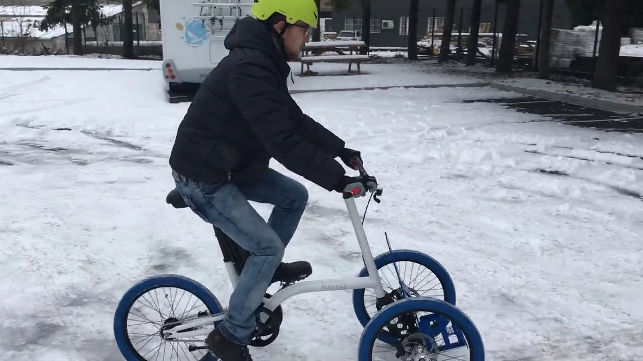 Tricycle Cargo Kiffy On Ice