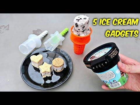 5 Ice Cream Gadgets put to the Test