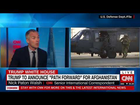 CNN Newsroom NPW US Afghanistan 21st August 2017