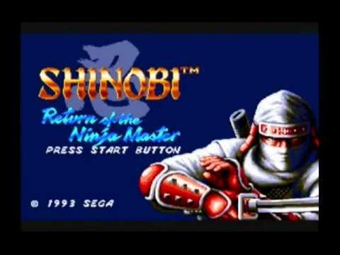 Shinobi Japonesque - Shinobi III SEGA Mega Drive