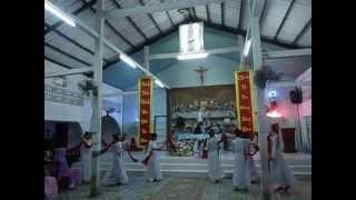 MẸ HIỆP THÔNG - Diễn nguyện nhà thờ TÂN THÀNH
