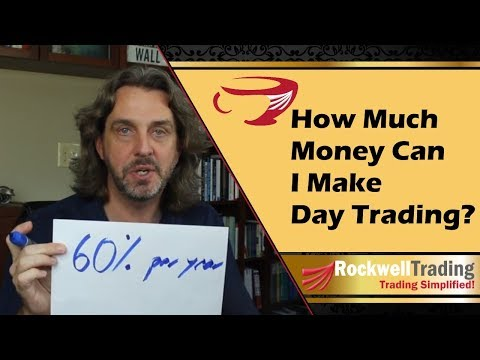 How much money can I make Day Trading