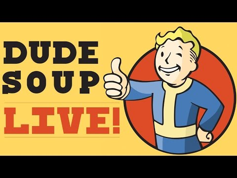 Dude Soup LIVE at RTX! - Dude Soup Podcast #28