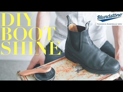 How To Polish Blundstone Boots // A Month of Gentlemen