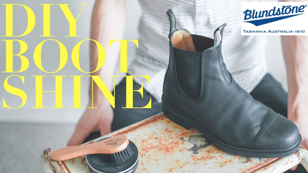 How To Polish Blundstone Boots A Month Of Gentlemen