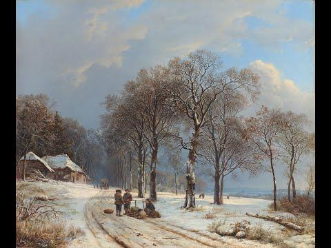 Barend Cornelis Koekkoek (1803 - 1862) Dutch artist  ✽ Ernesto Cortazar / Scent Of A Lifetime