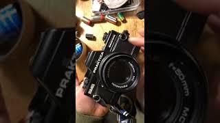 Praktica BMS electronic 프락티카 BMS slr 사용법 필름 넣는 법