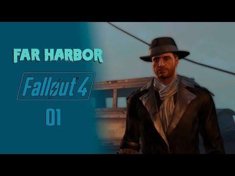 Fallout 4 DLC Far Harbor - Прохождение pt1 - Вдали от дома