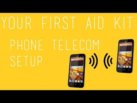 Phone Telecom Setup