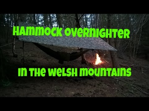 Hammock camping in the mountains of north wales (inc shoutouts)