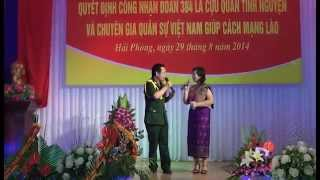 Tinh Viet Lao & Co gai Sam Nua (Quang Khai - Ngoc Ha)