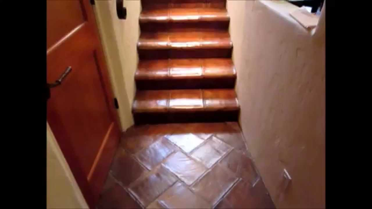 How To Faux Paint A Mexican Paver Floor Apppleby Cleaning Youtube