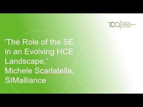 'The Role of the SE in an Evolving HCE Landscape,' Michele Scarlatella, SIMalliance