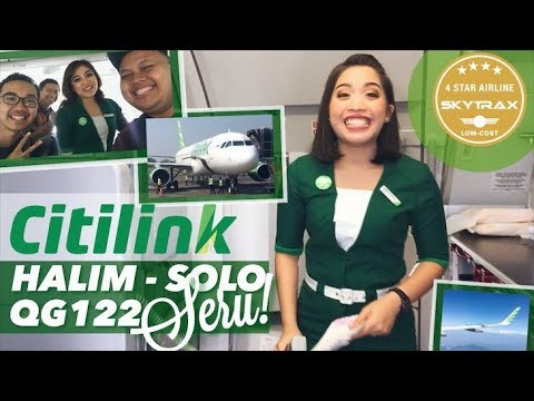 VLOG Citilink QG122 Halim - Solo | Best LCC in Indonesia? | Collab With rhmtdhani x Riazylink