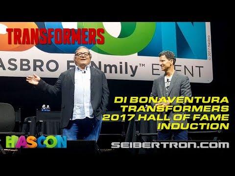HASCON 2017: Producer Lorenzo di Bonaventura Transformers 2017 Hall of Fame Induction