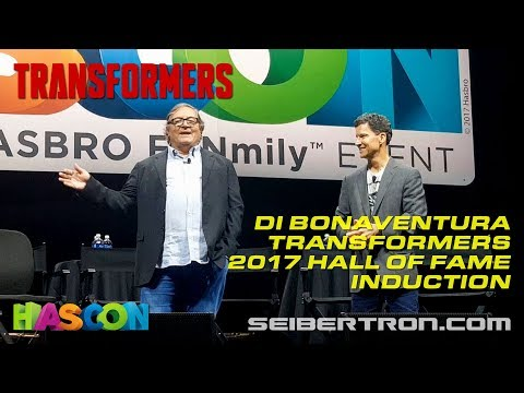 HASCON 2017: Producer Lorenzo di Bonaventura Transformers 2017 Hall of Fame Induction