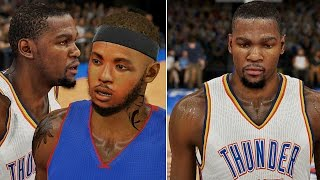 nba 2k15 mycareer deshawn calls kd after the game