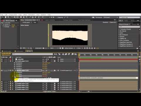 Tutorial: Create a Tearing Paper Animation with After Effect