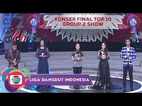 Cover Lagu Highlight Liga Dangdut Indonesia - Konser Final Top 10 Group 2 Show STAFABAND