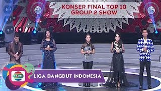 Highlight Liga Dangdut Indonesia - Konser Final Top 10 Group 2 Show - Stafaband