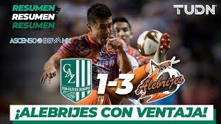Resumen y goles | Zacatepec 1 - 3 Alebrijes | Ascenso MX - AP 19 Final ida  | TUDN