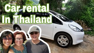 How to rent a car in Thailand | Driving In Thailand |