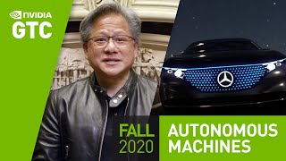 "GPU Technology Conference (GTC) Keynote Oct 2020, Part 8: ""Everything that Moves Will be Autonomous"""