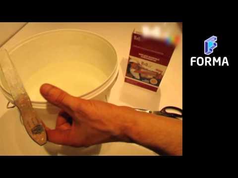 Как правильно развести клей Wellton для стеклохолстов и флизелина?