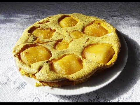 gâteau-aux-pommes/oeufs-sans-farine