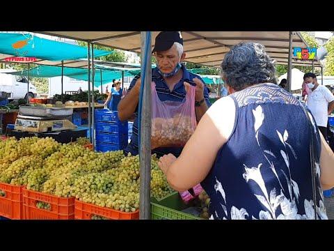 Nicosia vegetable market | Cyprus Nicosia Sunday market | Cyprus live