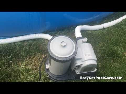 How To Clean Filters And SAVE MONEY Intex EasySet Pool