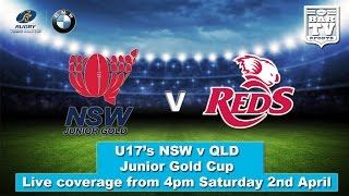 2016 NSW v QLD - U17's - Junior Gold Cup