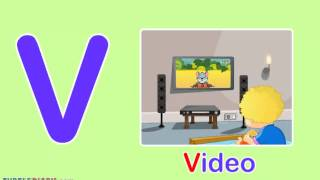 Toddler Words | Words Starting With V