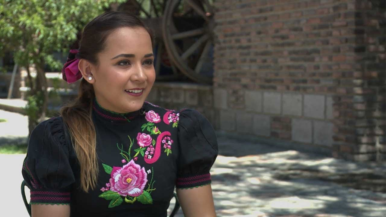4425175593e Meet the female horse rider who stars in Mexico s equivalent of rodeo