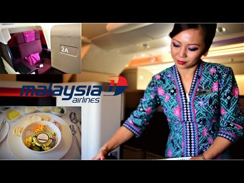 Malaysian Airlines First Class A380 Flight Experience