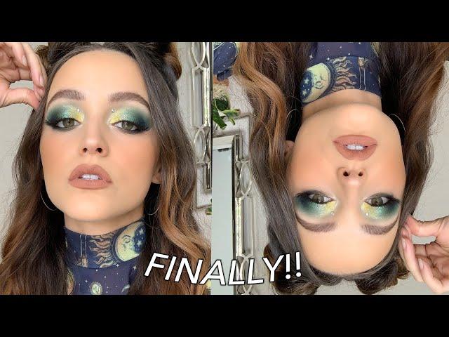 $$$ GREEN GLAM | Makeup Tutorial