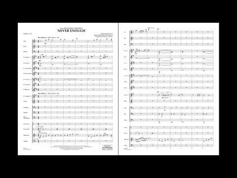 Never Enough From The Greatest Showman Arr. Johnnie Vinson