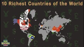 Top 10 Richest Countries In The World/10 Richest Country Projections 2019