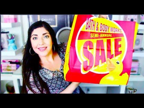 HAUL | Bath & Body Works Semi Annual Sale June 2017