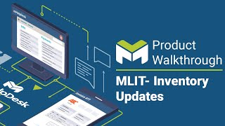 This video will show you how inventory updates in the new mlit feature mhd.