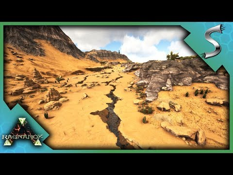 NEW DESERT BIOME EXPLORATION! AWESOME BASE LOCATIONS & CAVES! - Ark: RAGNAROK [DLC Gameplay E71]