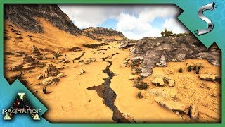 NEW DESERT BIOME EXPLORATION! AWESOME BASE LOCATIONS & CAVES! - Ark: RAGNAROK [DLC Gameplay E71]