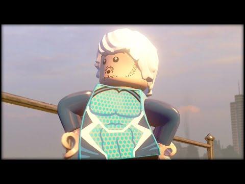 LEGO MARVEL AVENGERS - Quicksilver Free Roam Gameplay