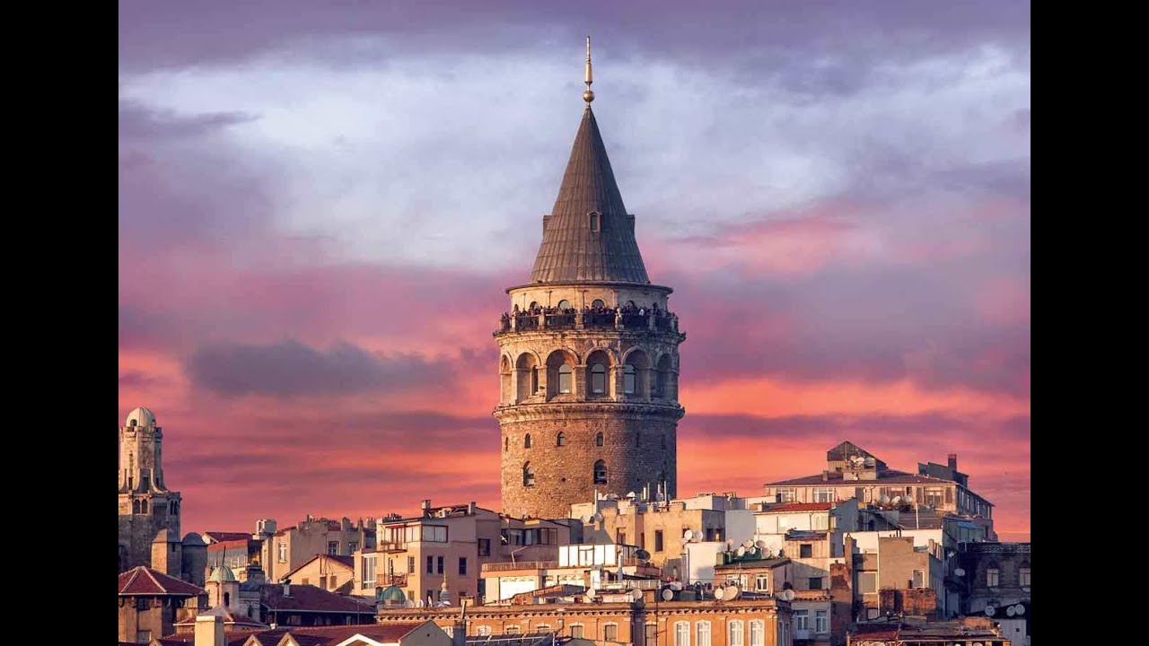 Galata Tower - Galata Kulesi ( Istanbul / Turkey) - YouTube