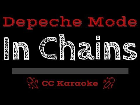 Depeche Mode   In Chains CC Karaoke Instrumental