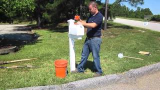 Easy Mailbox Installation Instructions